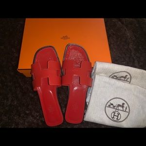 Hermès Oran Sandals.